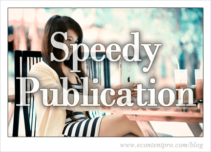 How to Facilitate a Speedy Publication Process